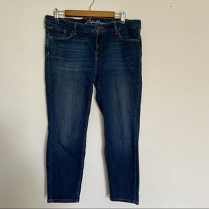 Eddie Bauer Slightly Curvy Skinny Ankle Jeans